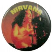 Nirvana - 'Dave Grohl' Button Badge